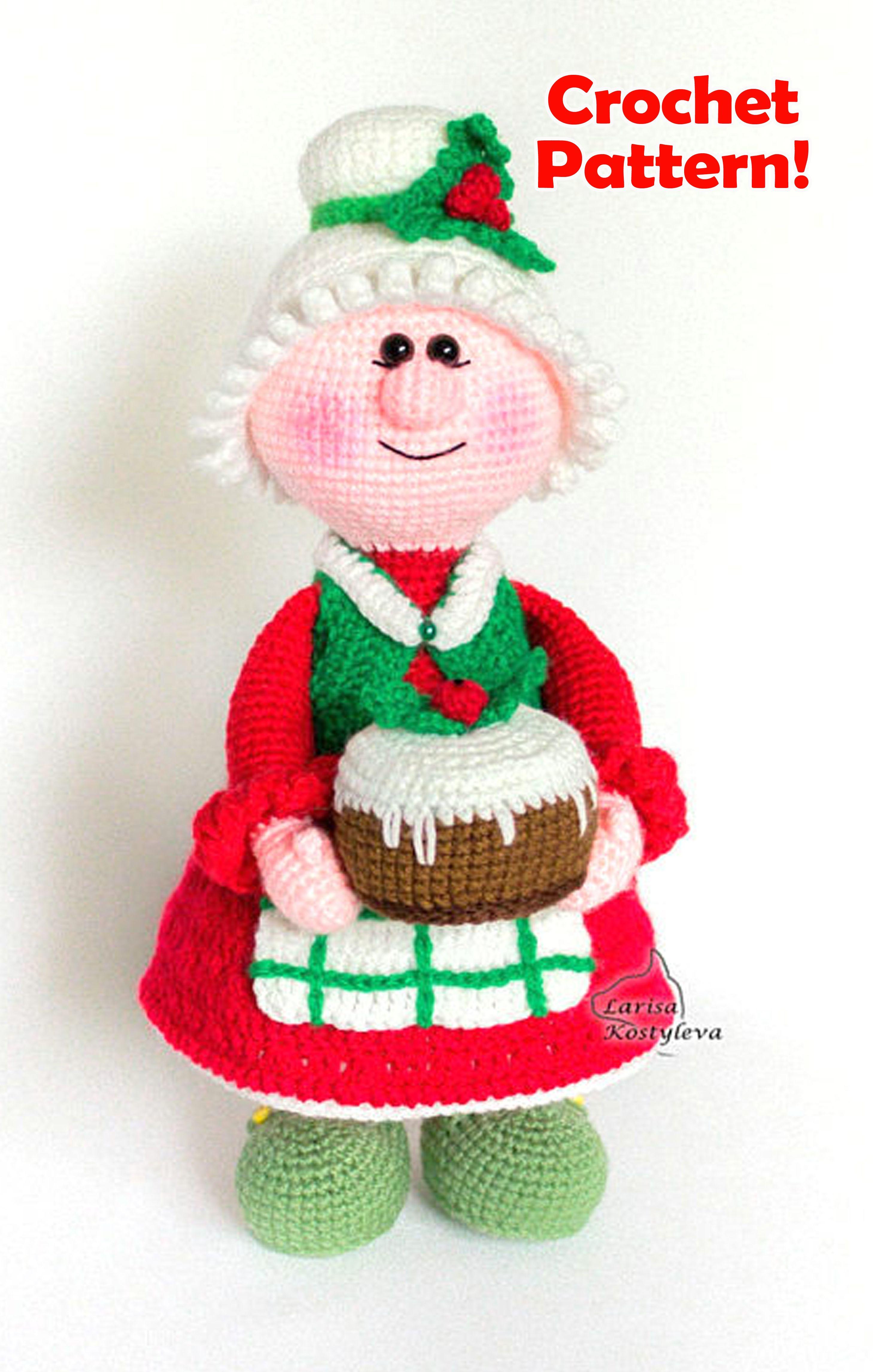 Santa Claus, Crochet pattern | 4583x2917
