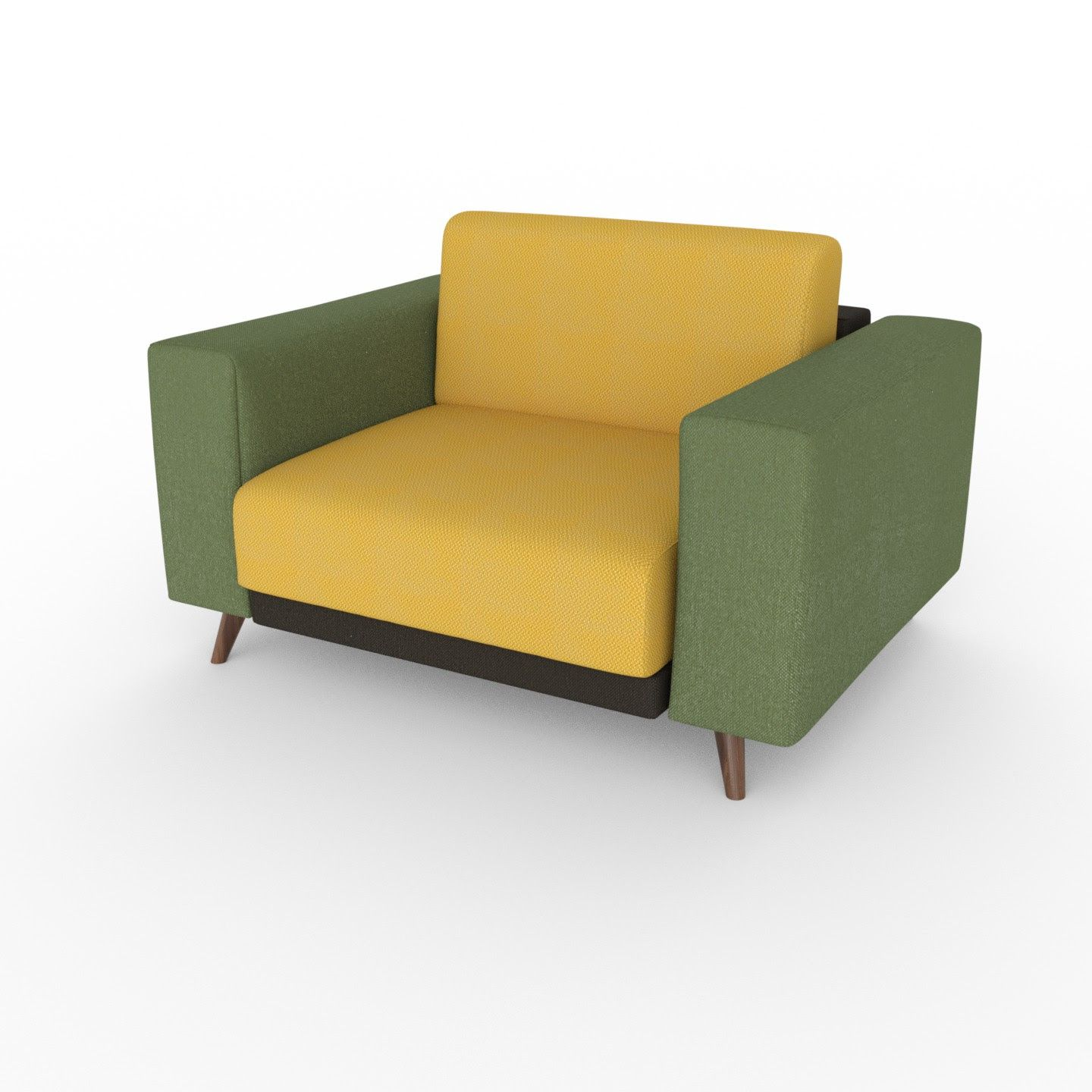 Sweet Seventies   A Combination Of Olive Green, Chocolate Brown And Rape  Yellow. #