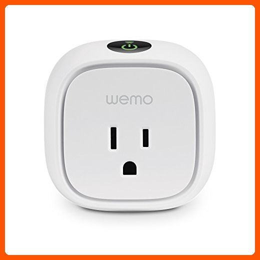 Wemo Insight Smart Plug, Wi-Fi Enabled, Control Your Lights, Appliances and Manage Energy Costs From Your Phone, Wor… | Smart home, Alexa home