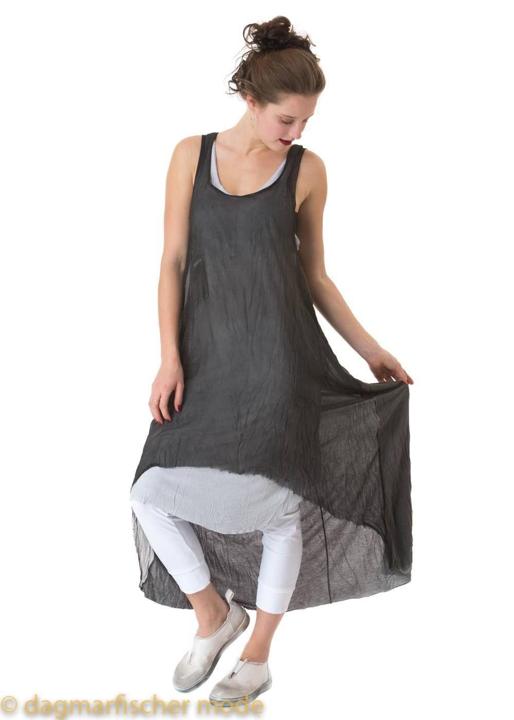 langes top / kleid mit seidenanteil von umit unal