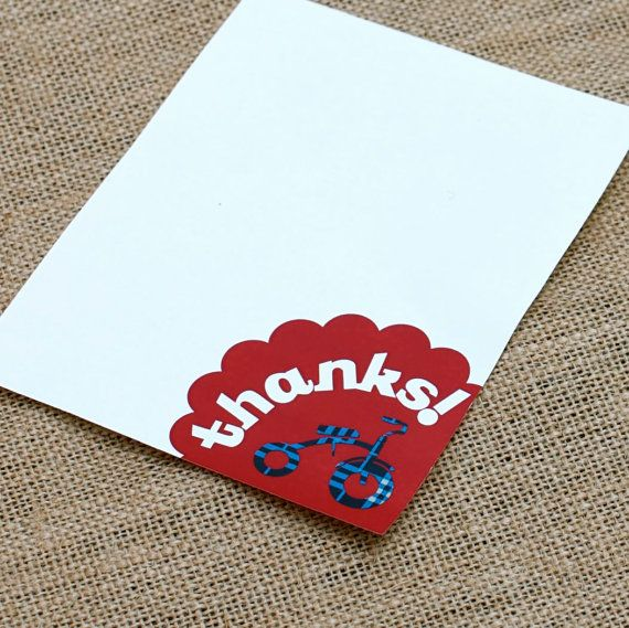 Childhood Toys Party Thank You Cards