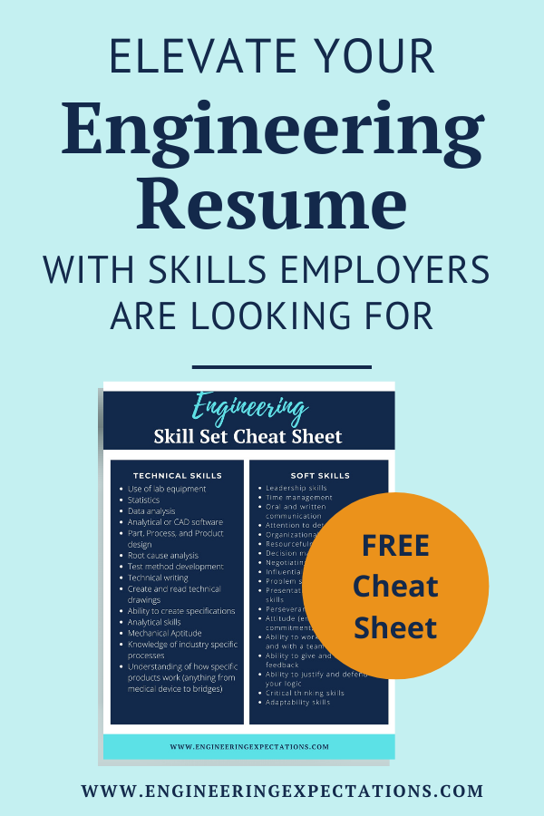Elevate Your Engineering Resume With Skills Employers Are Looking For Engineering Resume List Of Skills College Resume