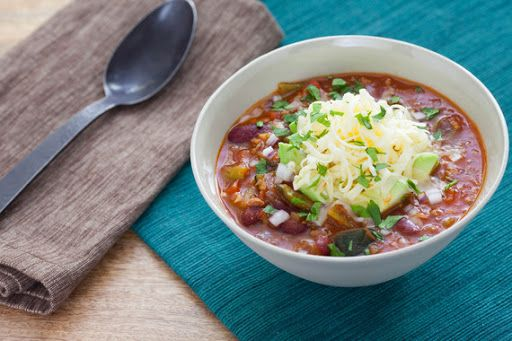 3-Chile Beef Chili with Red Kidney Beans