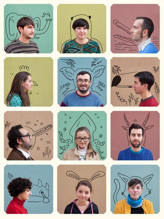 Els Animals Las Coleccionistas Teamfoto Pinterest