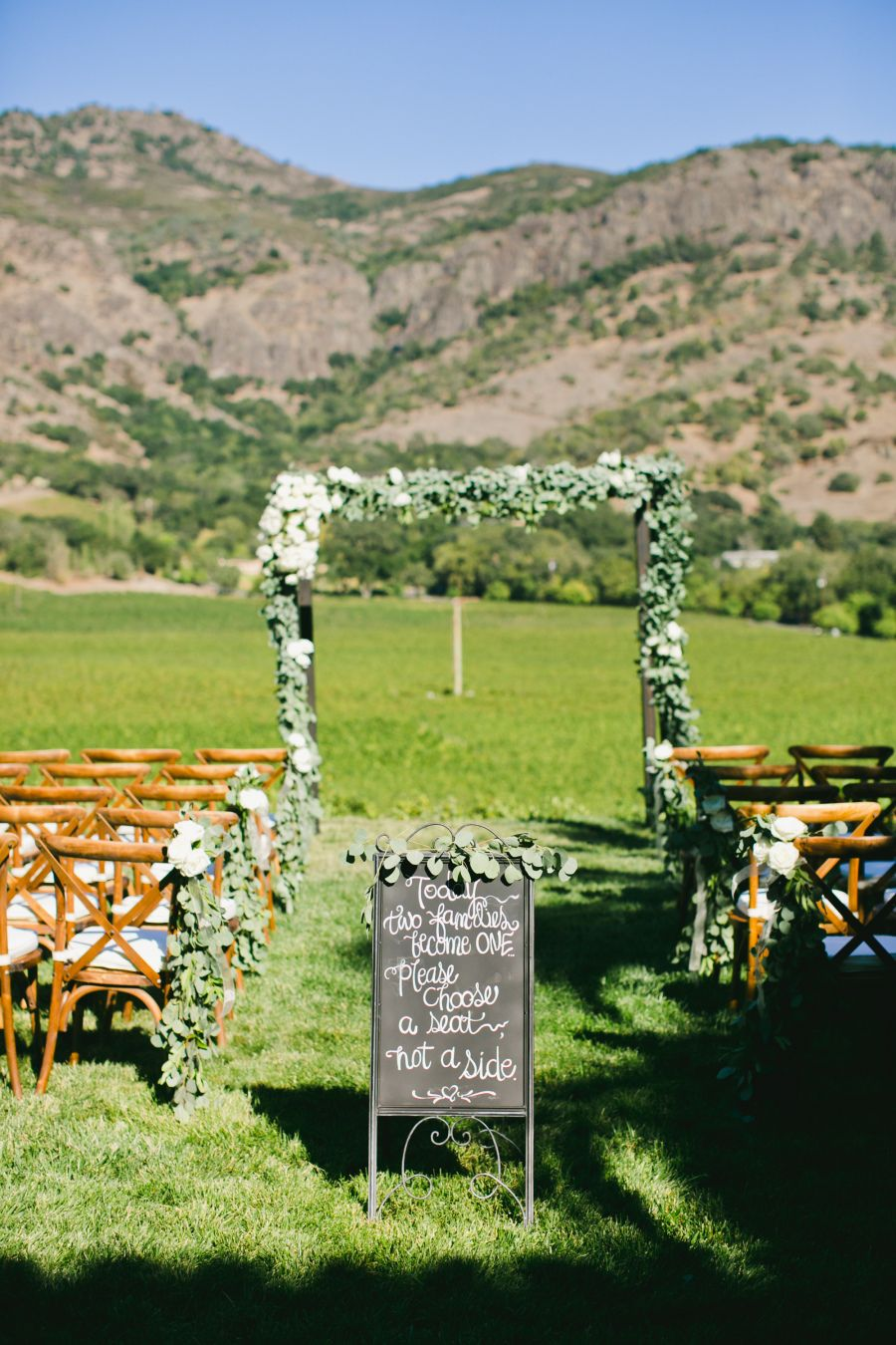Intimate Al Fresco Napa Wedding Napa wedding, Country