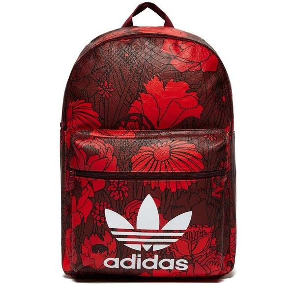 f70caa6c7a03 adidas Originals Classic Flowers Backpack ( 46) ❤ liked on Polyvore  featuring bags