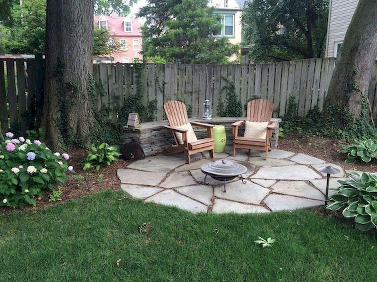 55 Beautiful Backyard Patio Ideas On A Budget | Small ... on Simple Patio Ideas On A Budget id=40734