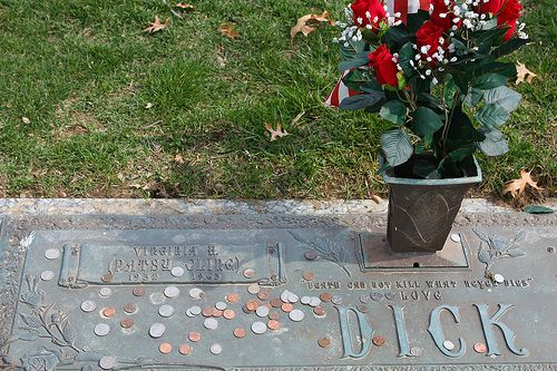 Grave Marker Patsy Cline Buried At Shenandoah Memorial Park