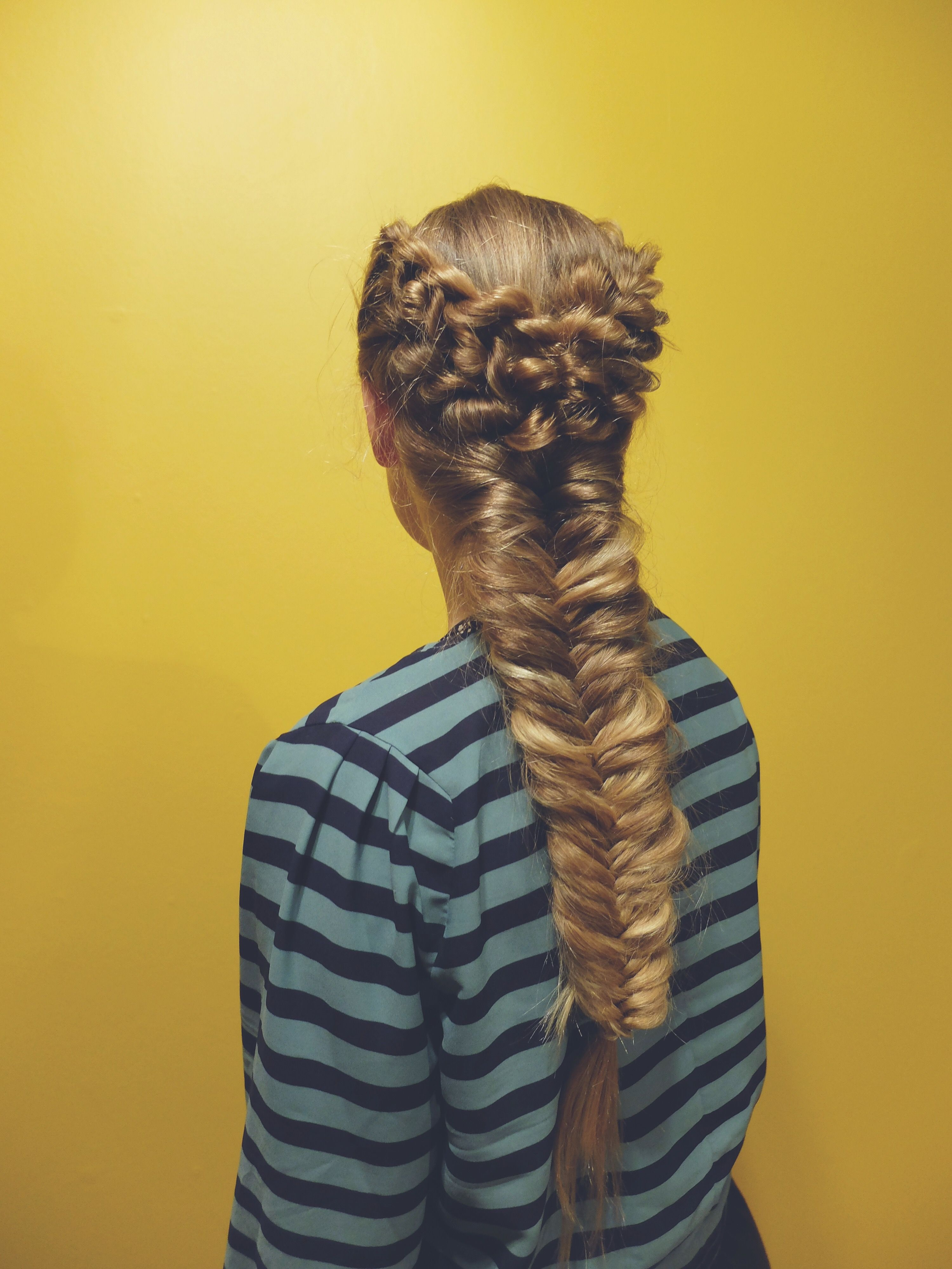Fishtail braid with a twist @nordic_braids