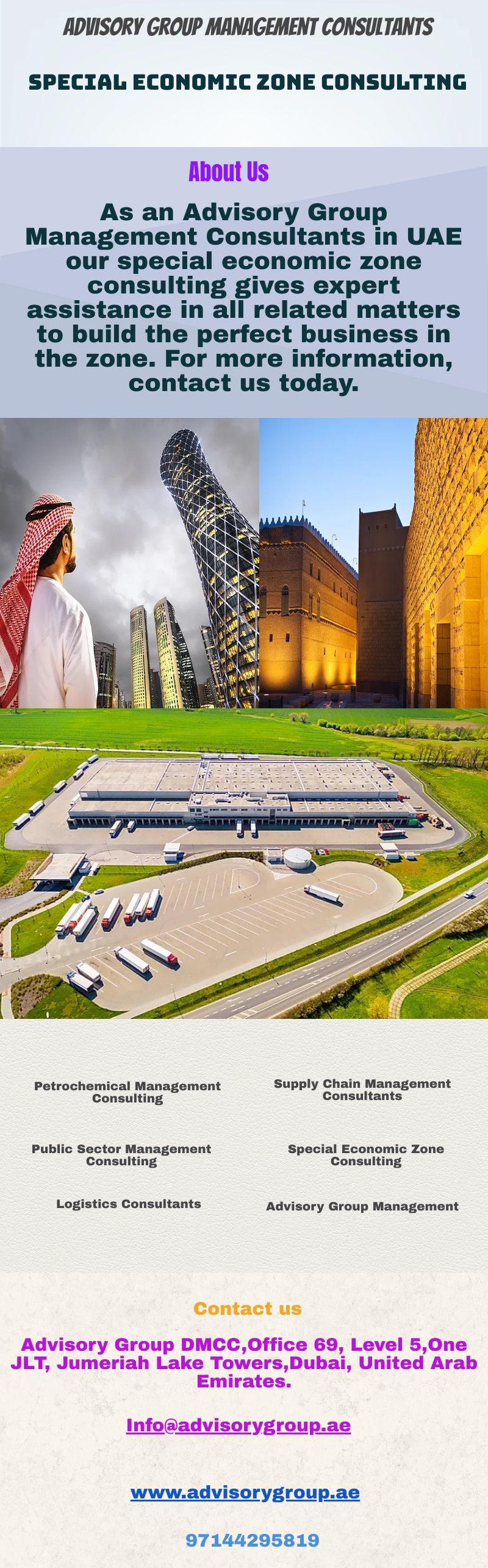 As an Advisory Group Management Consultants in UAE our ...