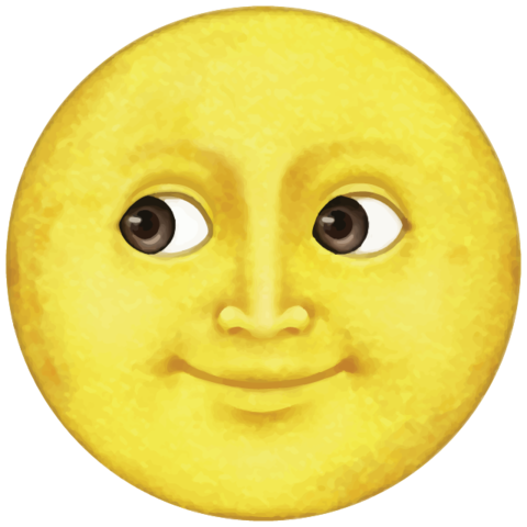 Yellow Moon Emoji Moon Emoji Yellow Moon Emoji Drawings