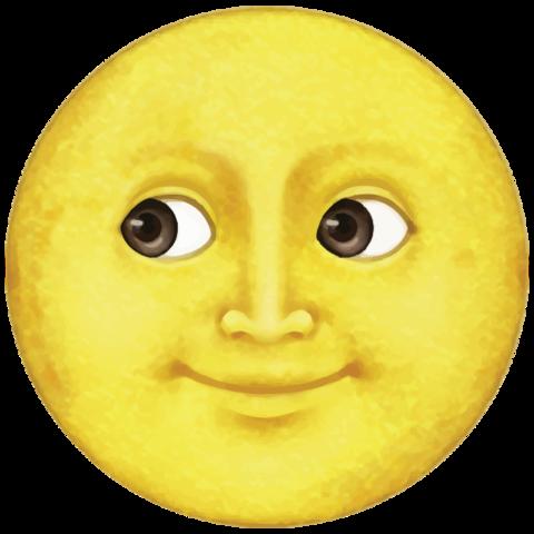 Yellow Moon Emoji Moon Emoji Yellow Moon Emoji Drawings
