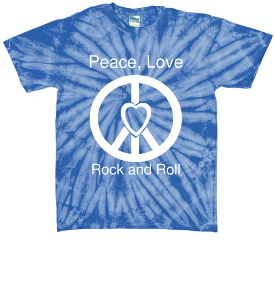Peace, Love, Rock and Roll....LIMITED!! | Teespring
