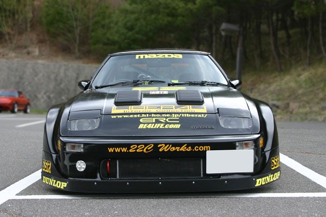 mazda rx7 1985 racing. while doing my usual morning surfing i came across this very awesome racing version savanna when mazda introduced the sporty new in mid 1977 rx7 1985 g