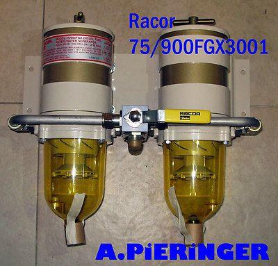racor 75/900fgx series fuel filter / water separators for diesel powered  engines € 478,80