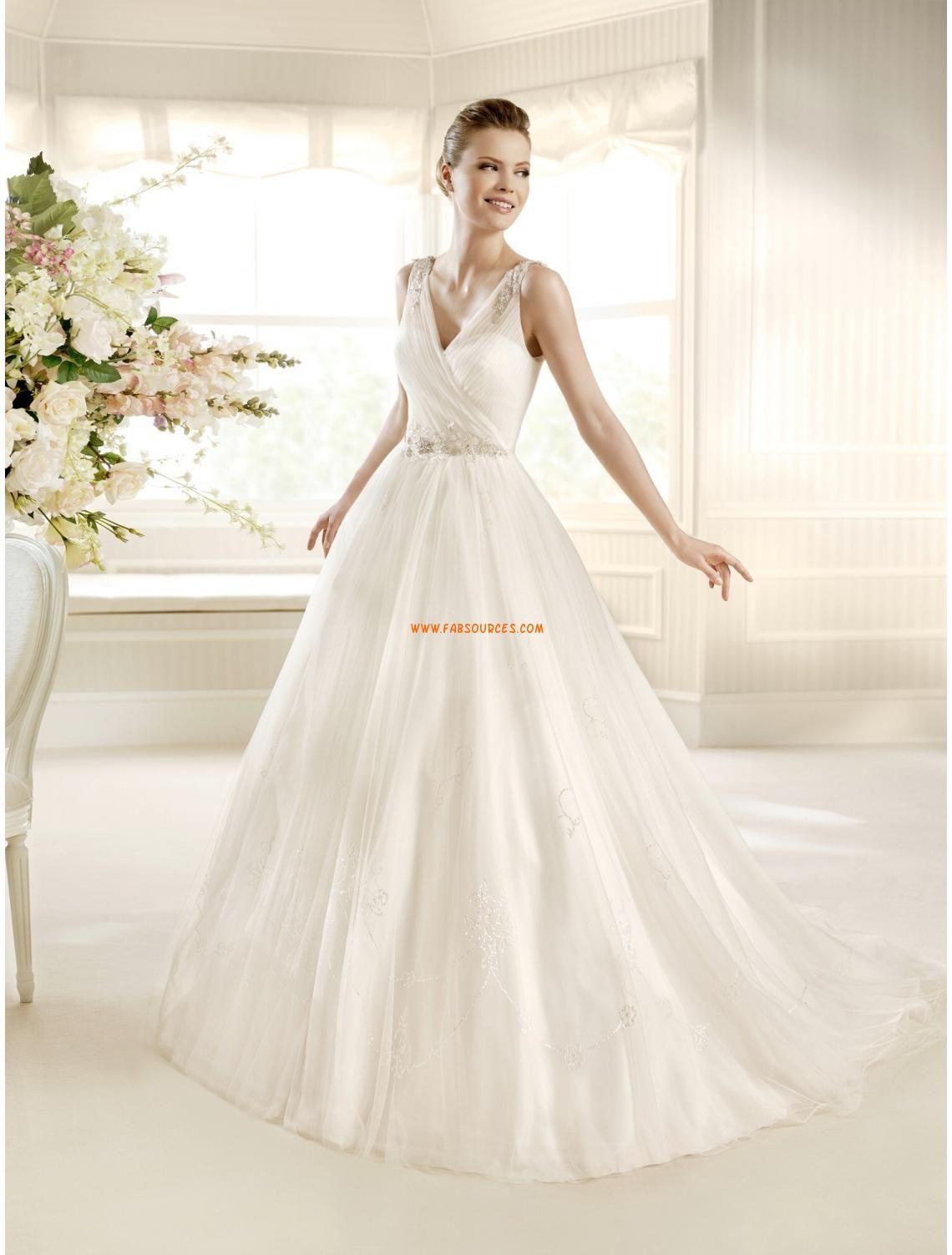 Robe de mariee princesse moderne