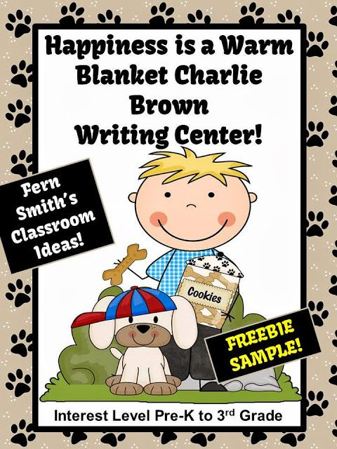 Fern's Freebie Friday ~ Happiness is a Warm Blanket Charlie Brown ...