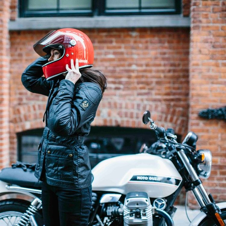 186274542c6 The Belstaff Trialmaster Classic Tourist Trophy Ladies Jacket is the new  version of the legendary Classic Tourist Trophy jacket for Belstaff's Pure  ...