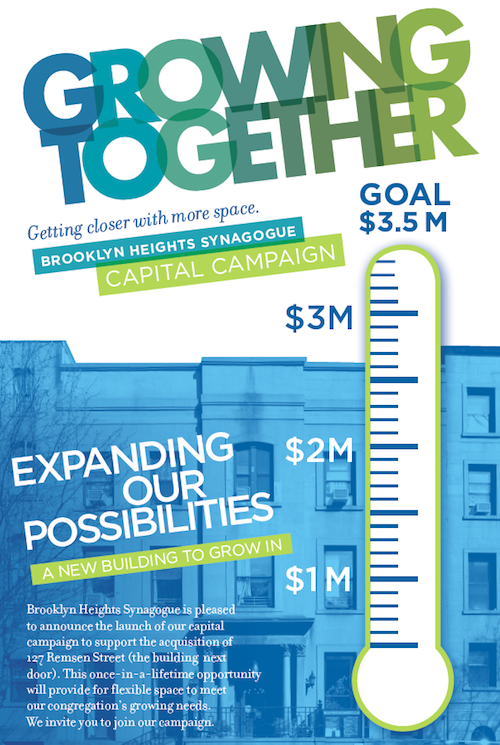 synagogue launches capital campaign to expand space
