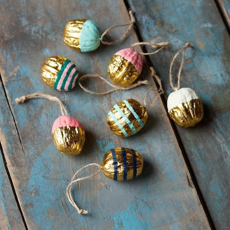 Walnut Ornament #weihnachtsbastelnnaturmaterialien