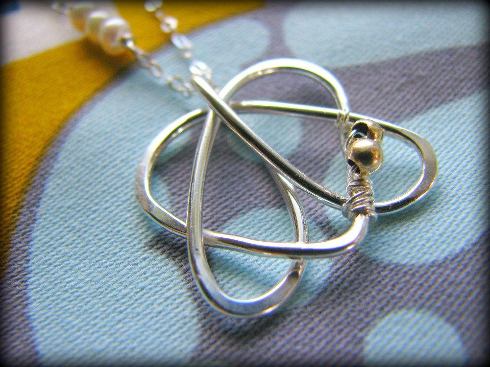 Celtic Sister Heart Pendant Necklace Tattoo Design Symbol Heart
