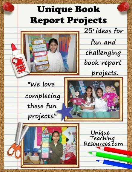 Unique book reports
