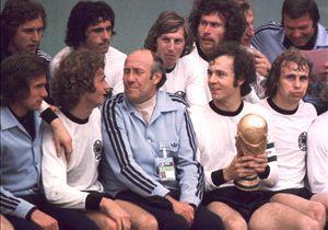 West Germany winning World Cup 1974 coach Helmut Schoen