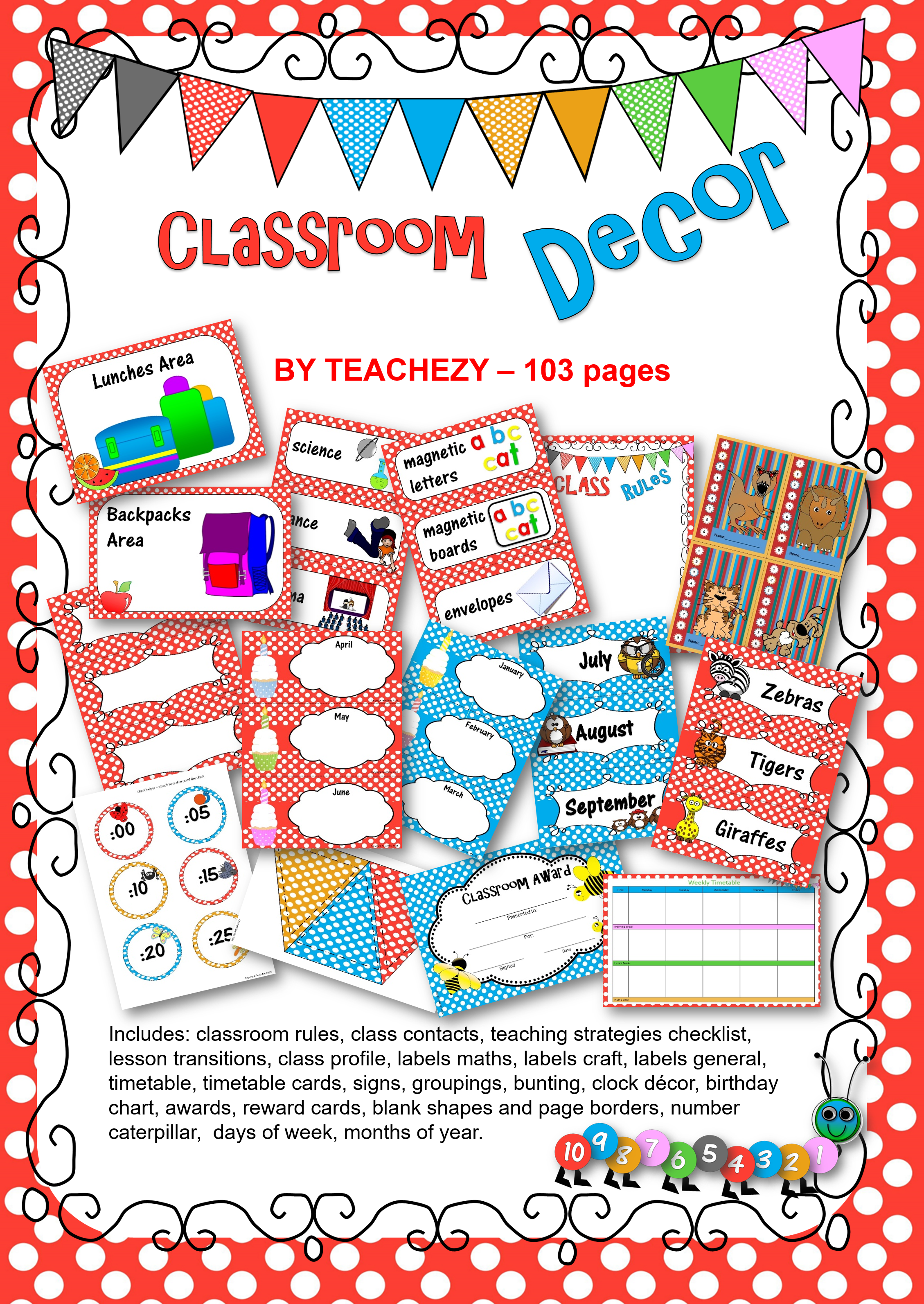 Classroom Decor Pack