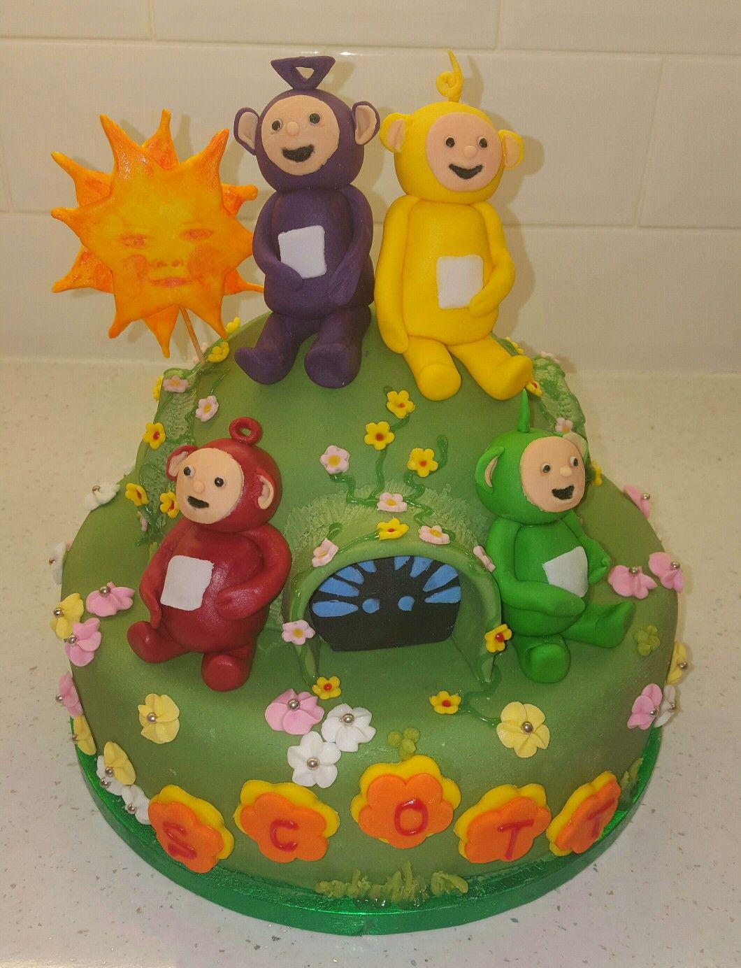 Teletubbies Cake | birthday cake | Pinterest | Torten