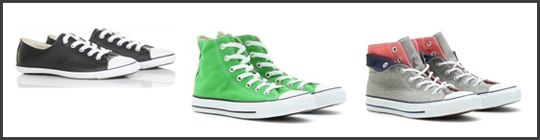 Parisiennes are mad for Converse sneakers