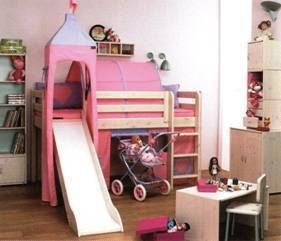Flexa Loft Bed With Slide For 500 Bed With Slide Loft Bed