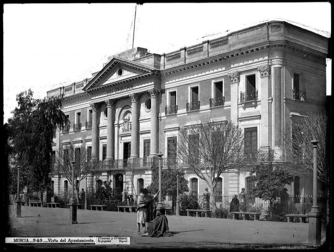 Javier Delmuro Ayuntamiento De Murcia Sobre 1870 Murcia Metropolis Empire