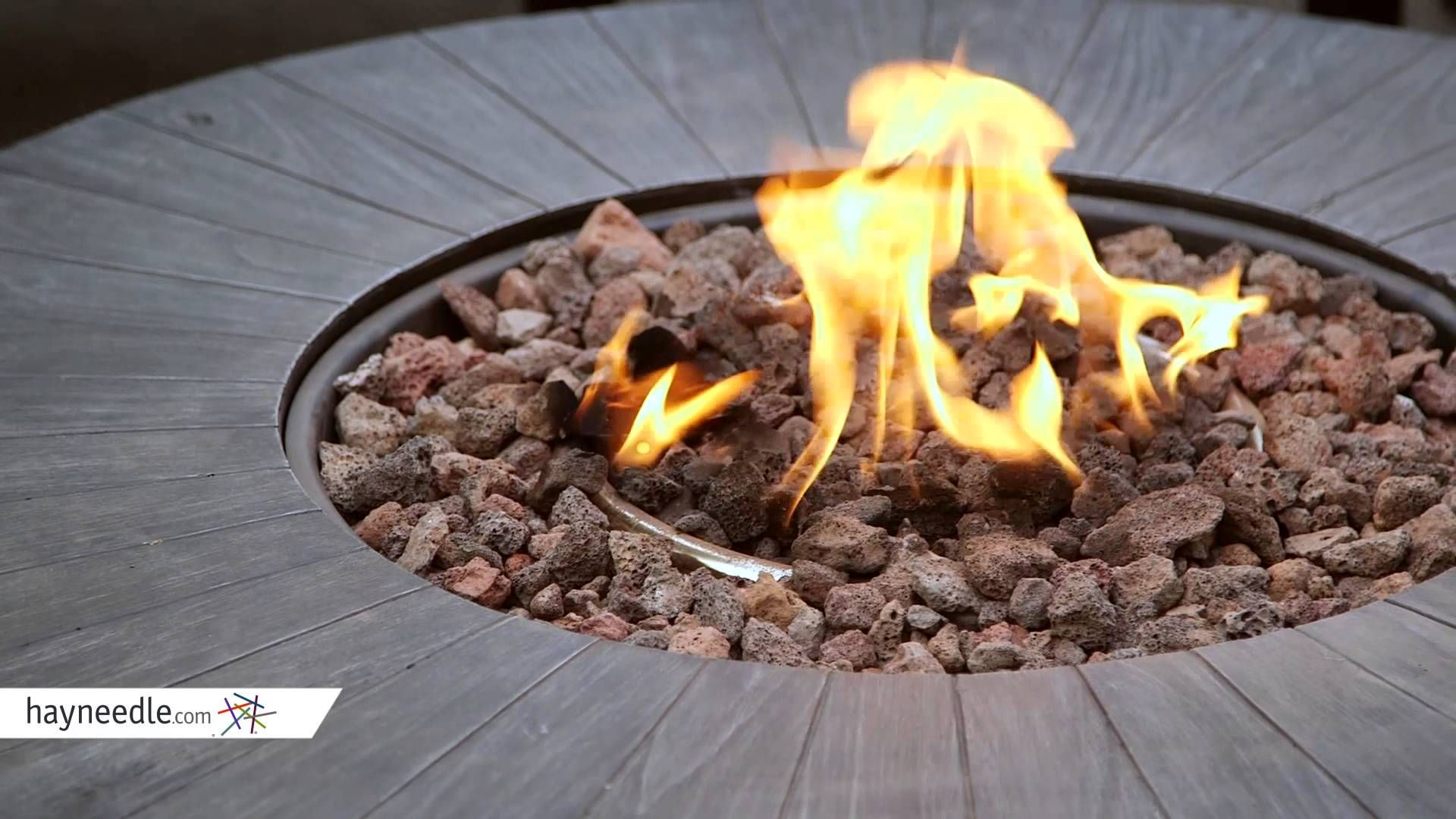 Red Ember Whitehall 40 in. Gas Fire Table with FREE Cover ... on For Living Lawrence Fire Pit id=86515