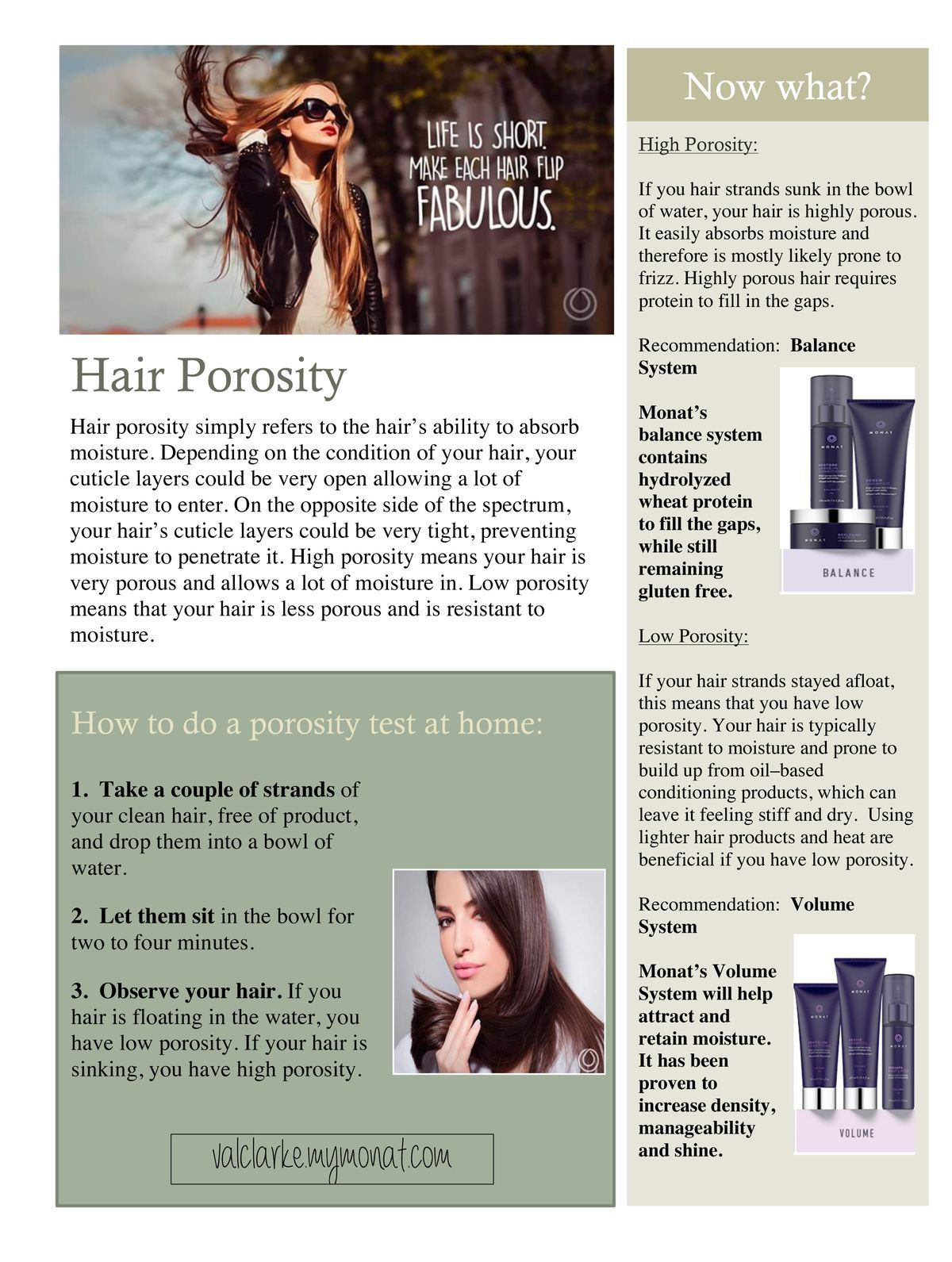 Test For Porosity Of Your Hair Ask Me How I Can Help