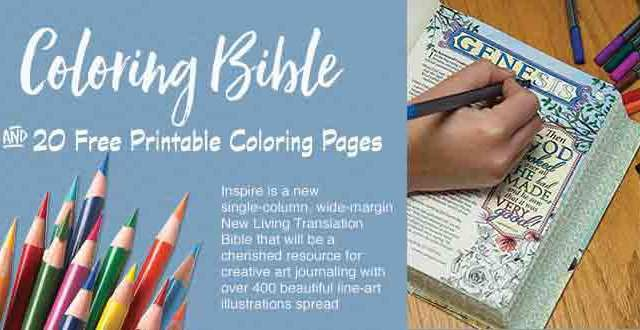 Free Adult Bible Coloring Pages