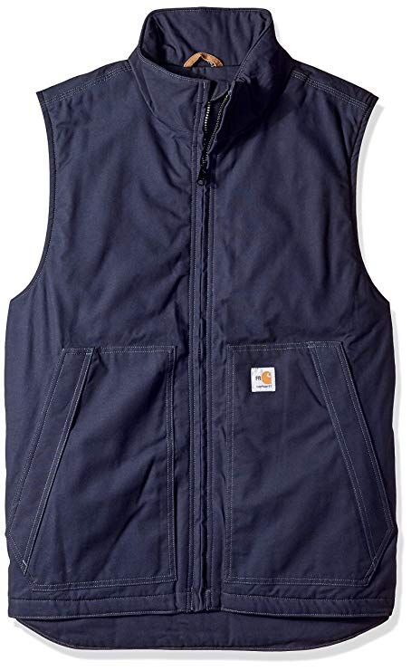da571fd6c742 Carhartt Men s Big   Tall Flame Resistant Quick Duck  Vest