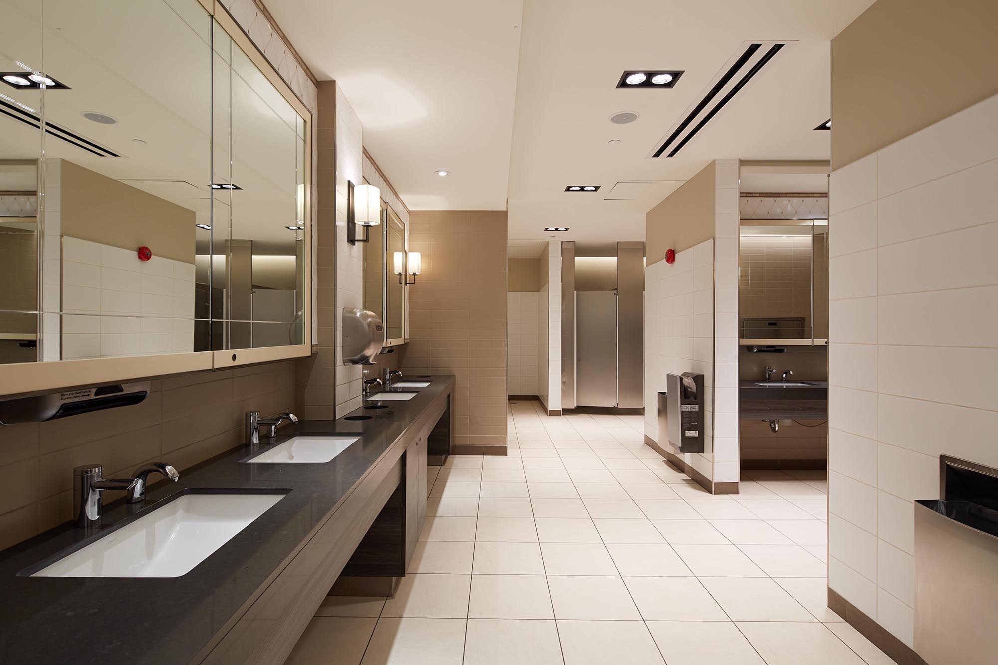 Lighting Basement Washroom Stairs: Image Result For Shopping Mall Bathroom