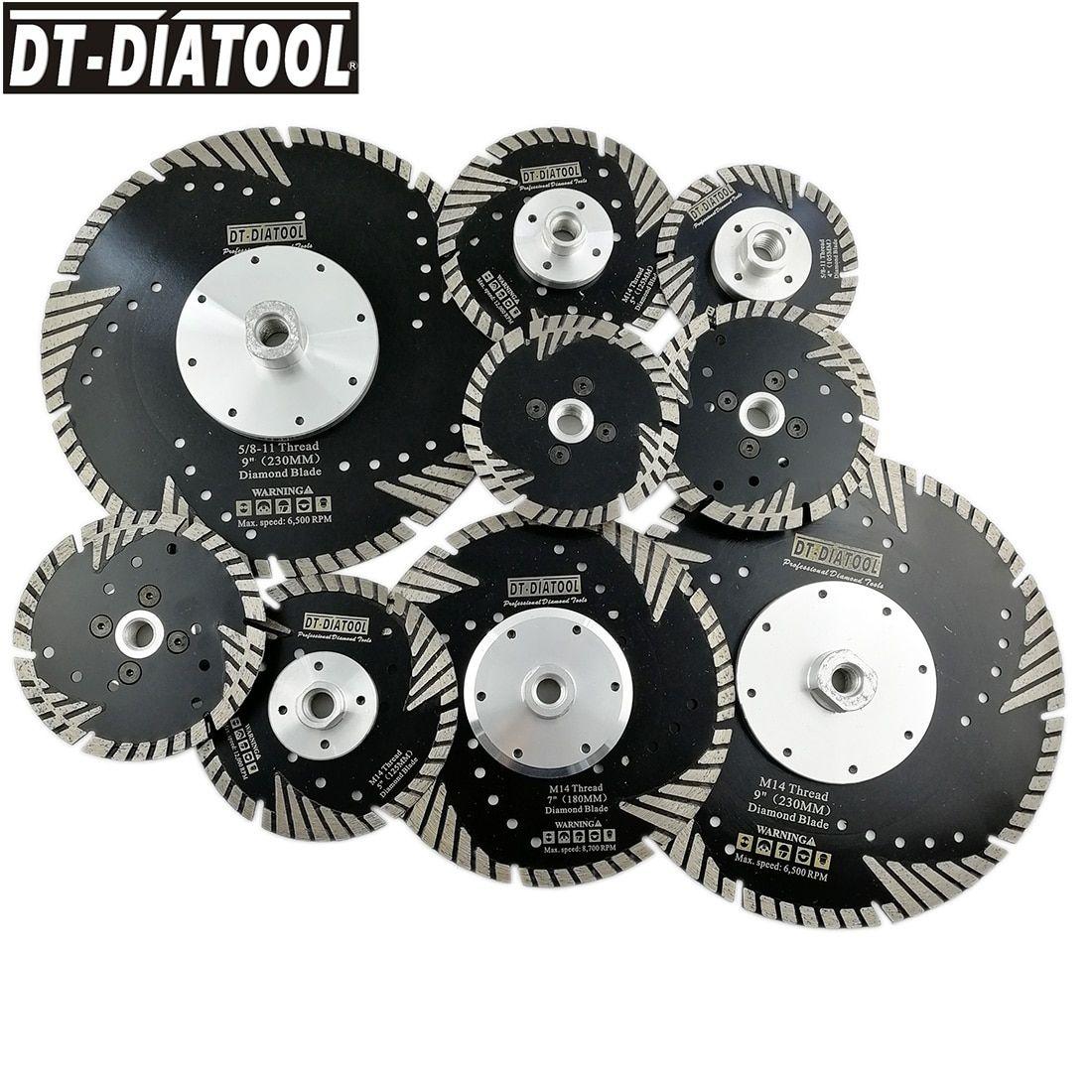 1pc Hot Pressed Diamond Turbo Blade with Slant Protection