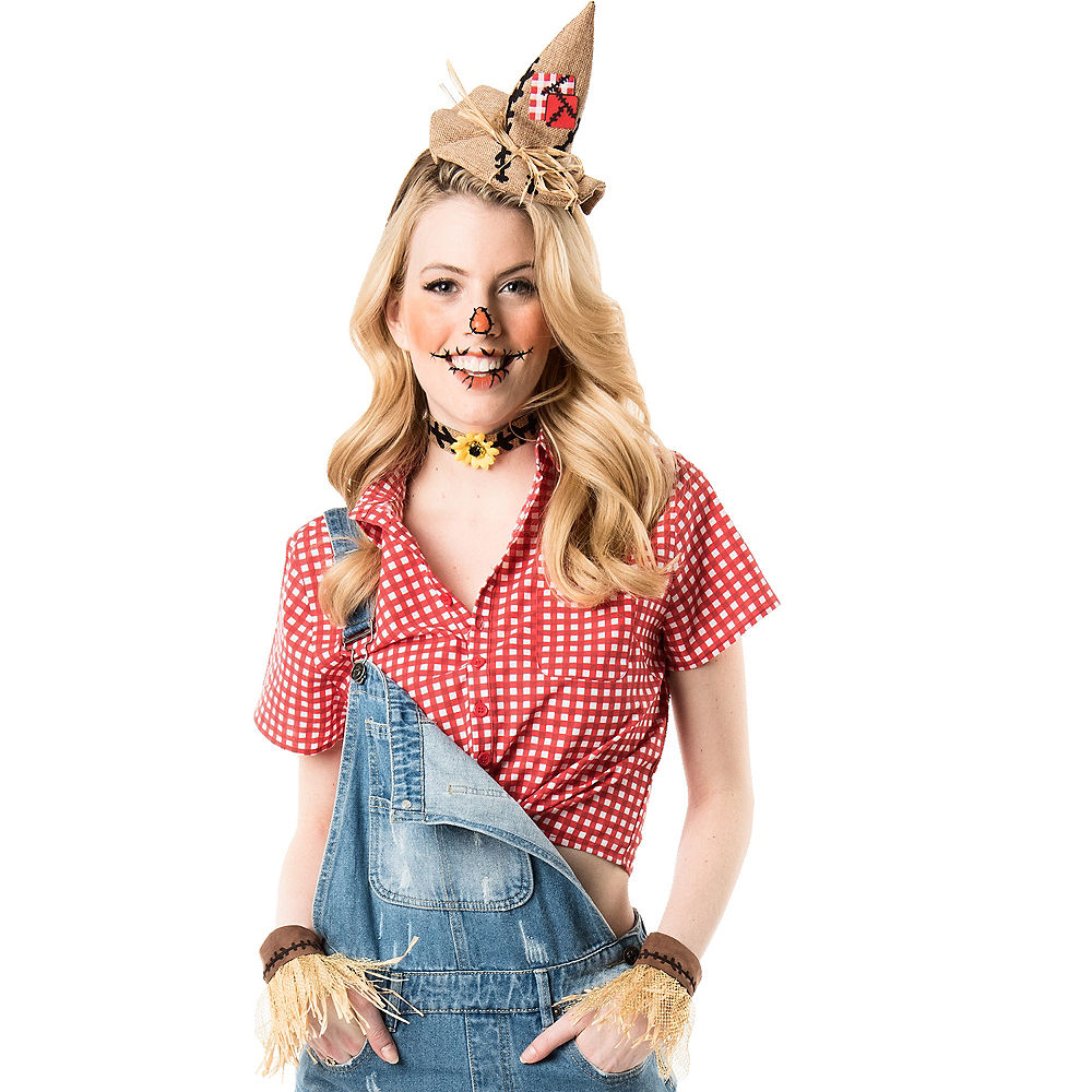 womens cute diy scarecrow costume Google Search