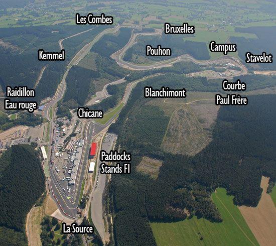 Circuito Spa : Circuito f1 spa bélgica cars and sports sports car racing