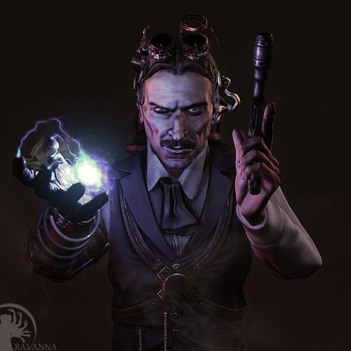 Nikola Tesla Wallpapers 35 Wallpapers: Nikola Tesla Voltapunk Character By Aeryn Davies
