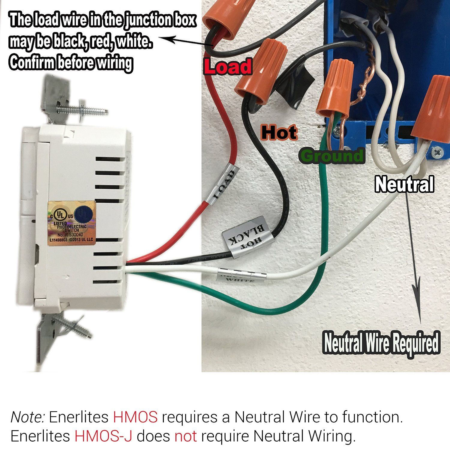 Light Switch With Neutral Wires Joined - WIRE Center •