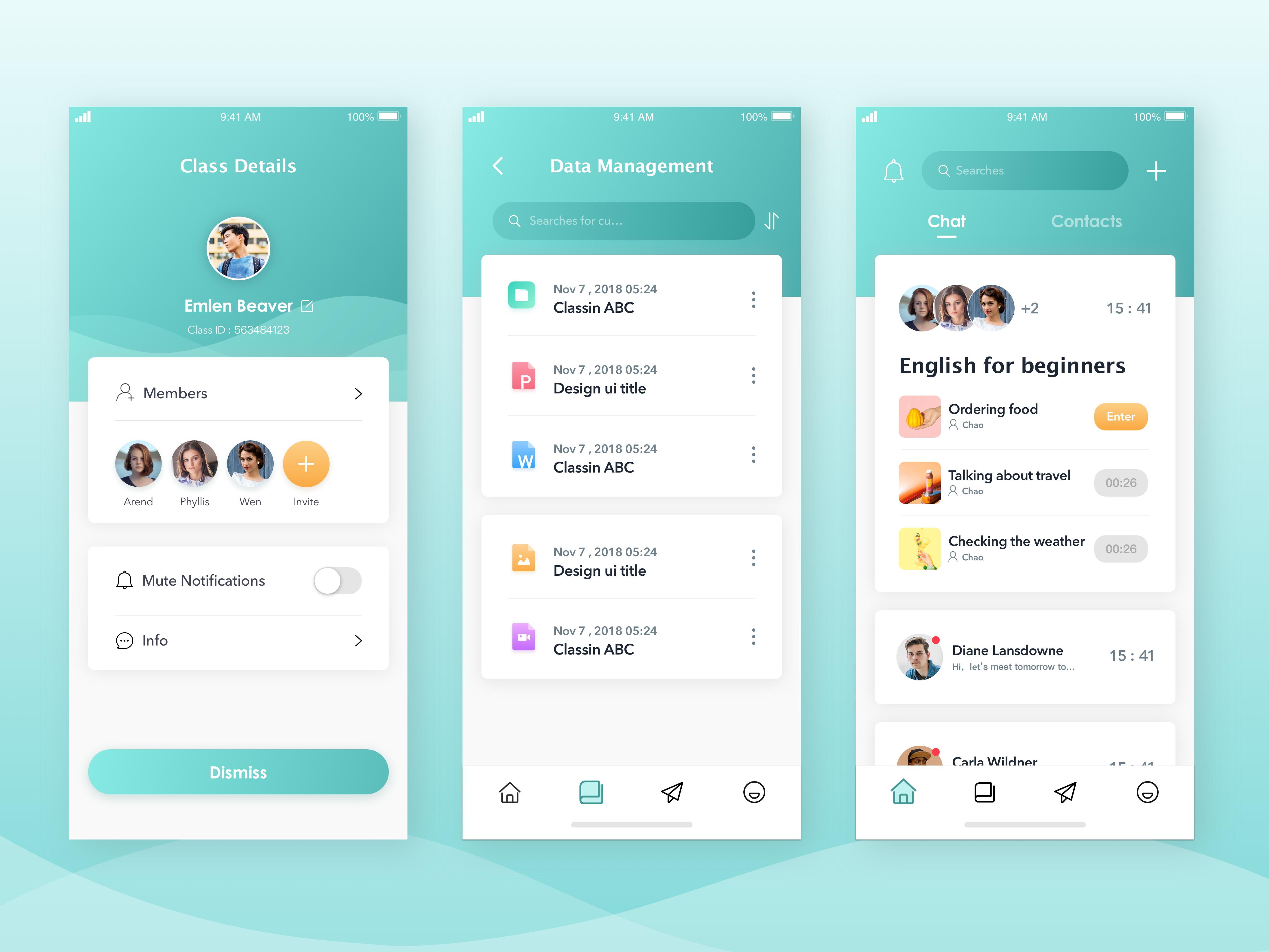 online learning app | android app design, app design, app