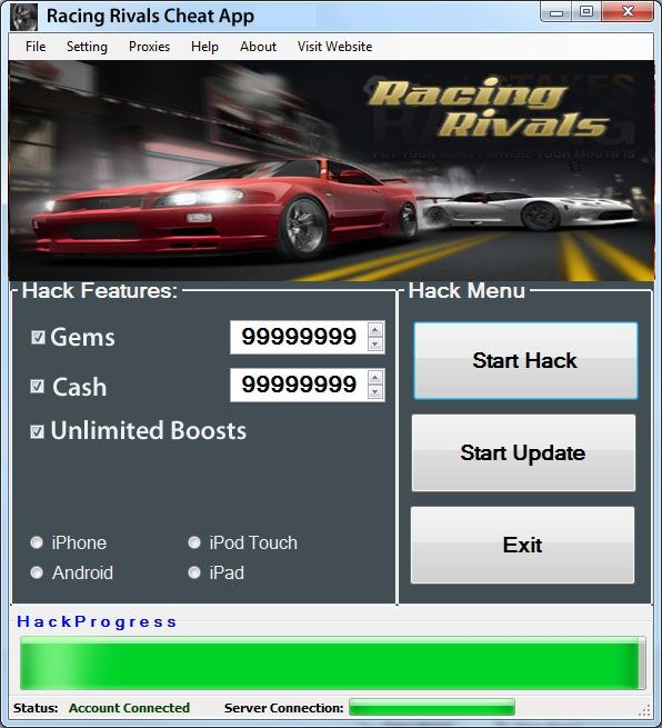 Racing rivals hack iphone 5 - Whatsapp die blauen haken entfernen