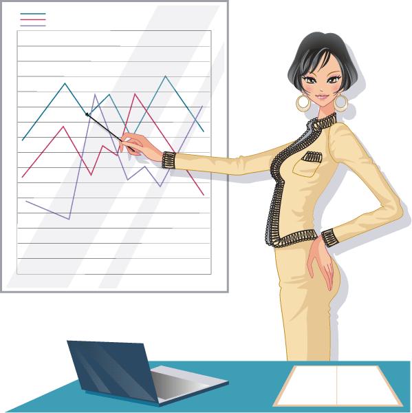 mujer trabajadorapresentacion2 vector  Mujeres trabajadoras