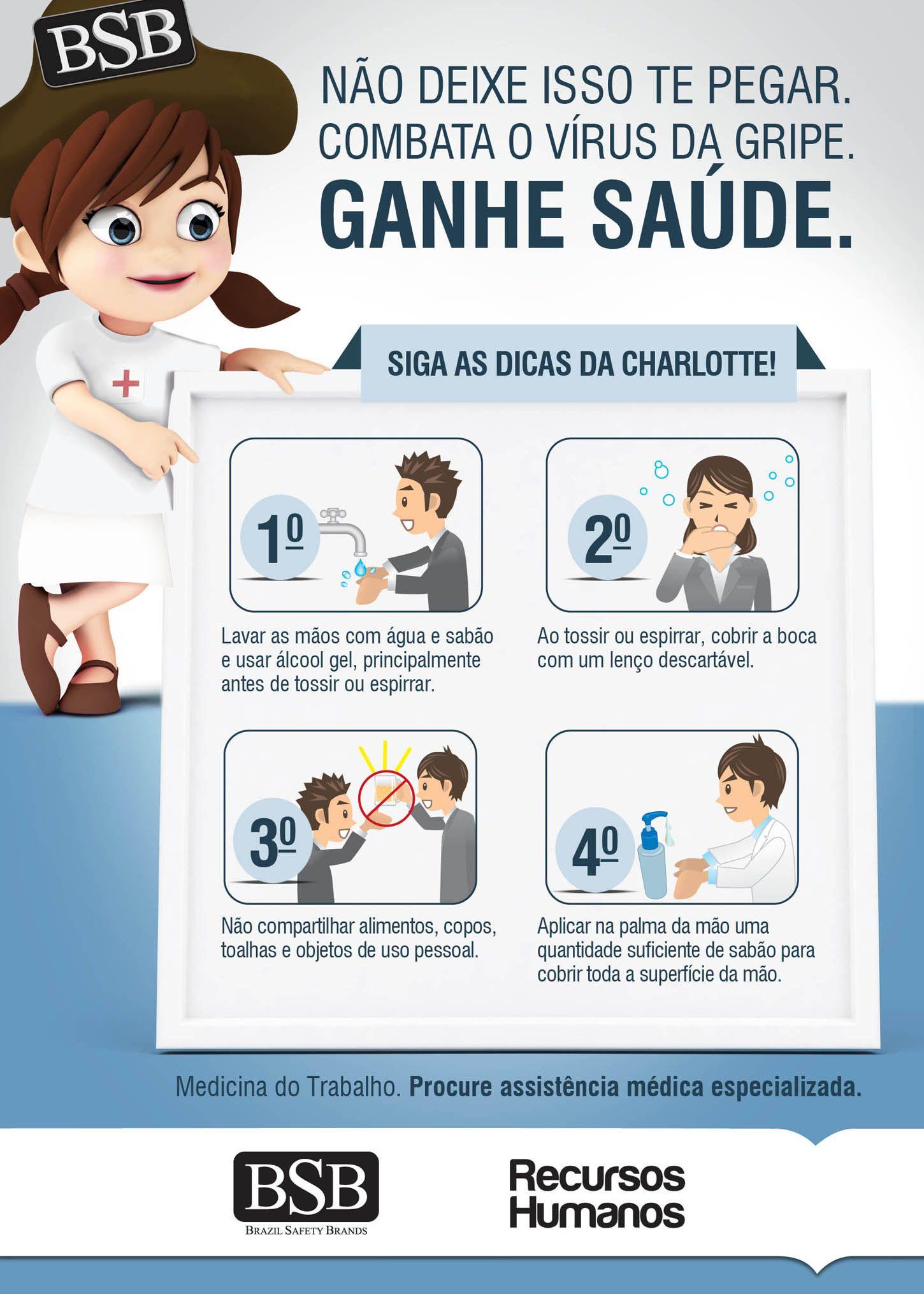 BSB - Campanha contra gripe.