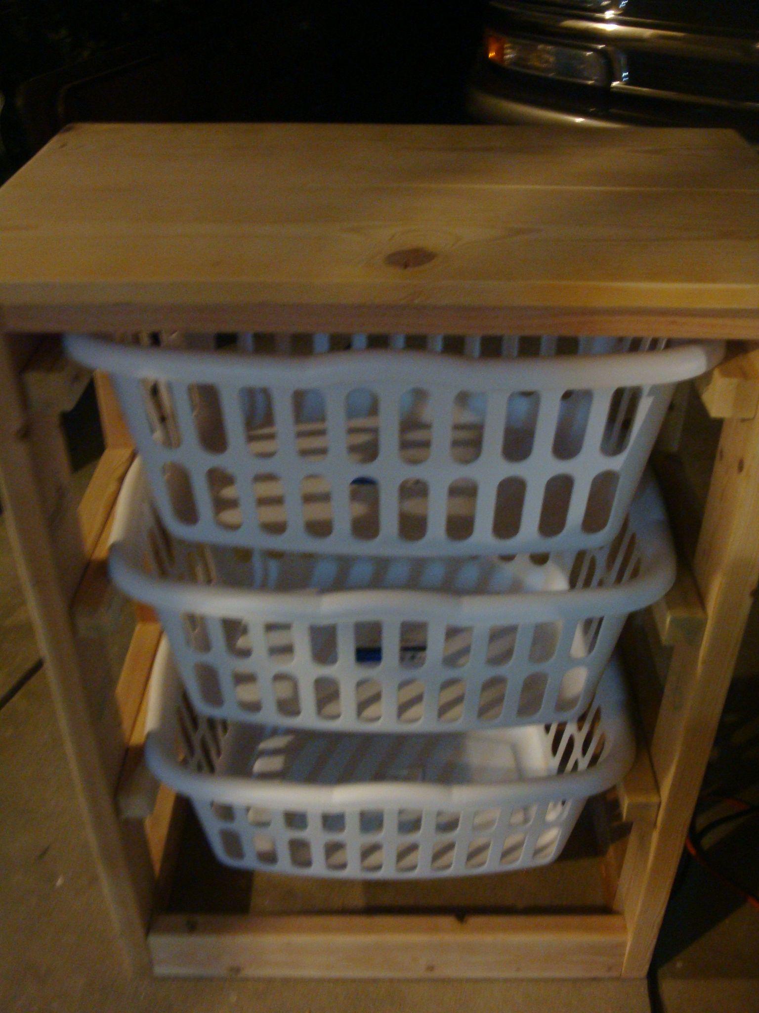 Laundry Basket Dresser   Laundry basket dresser, Laundry basket ...