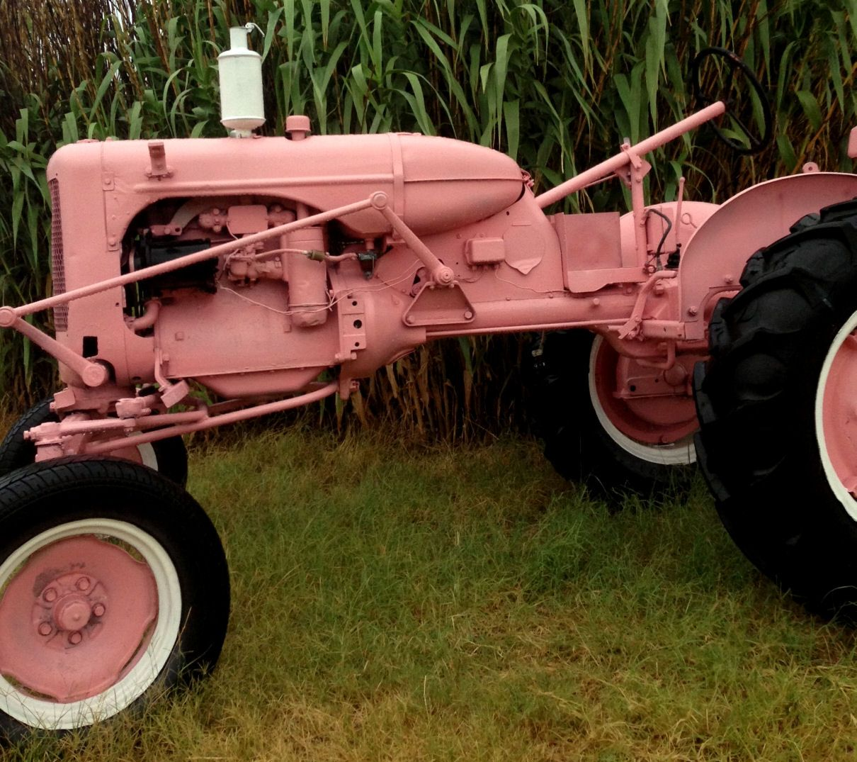 Our Pink Tractor @ Southern Jeweled / Lori Horton!