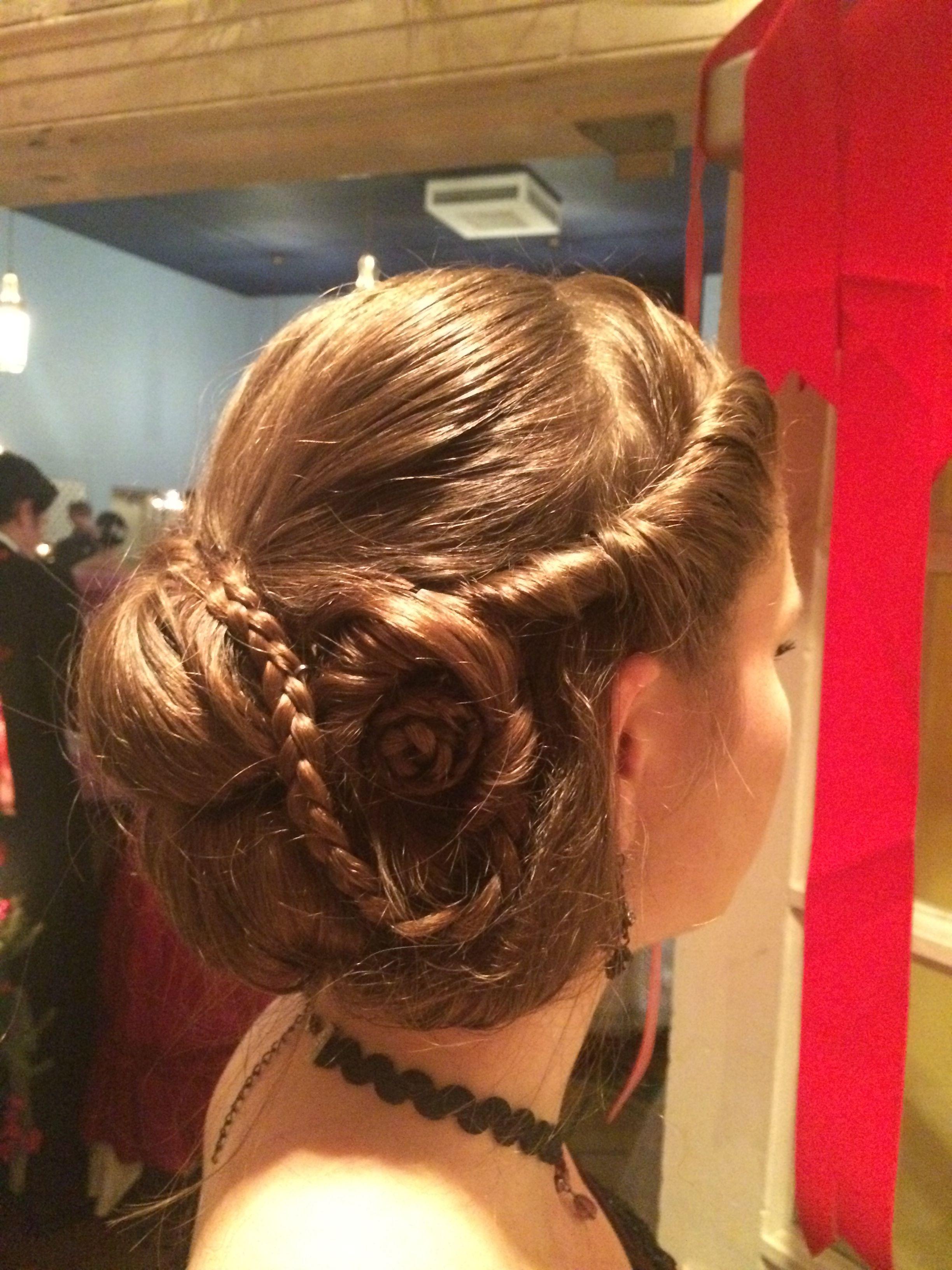 1860's civil war double waterfall ball hair style by eleanna
