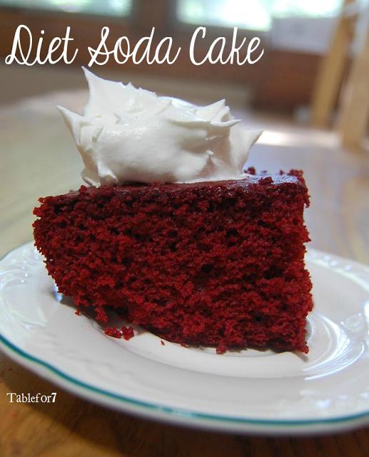 Eggless Cake Using Strawberry Crush